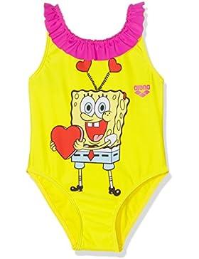Arena Kg Sponge Love Kids Costume Piscina, Giallo, 2-3