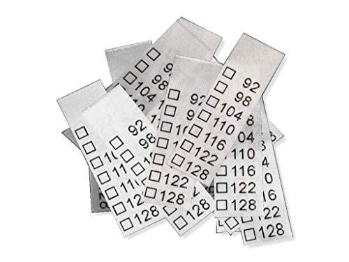 Hödtke - 25 Etiquetas Textiles universales niños