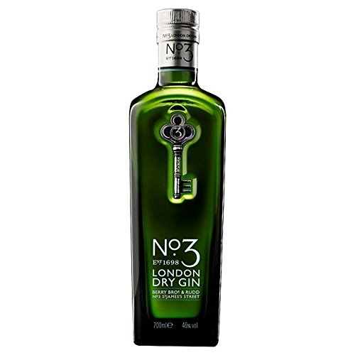 No.3 London Dry Gin 70 cl - (Packung mit 6)