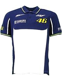 Valentino Rossi VR46 M1 Yamaha Racing Team Moto GP chemise polo officiel 2016