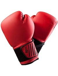 862b20aa9425 Guantes de Boxeo Muay Thai Martial Arts Sanda Punch Bag Guantes de  Entrenamiento FightRed12Oz