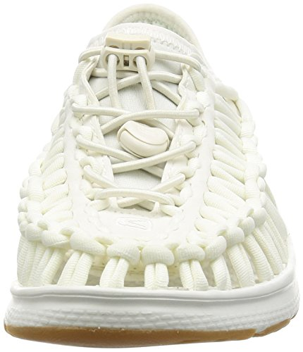 Keen Uneek O2 W, Sneaker a Collo Basso Donna Multicolore (White/Harvest Gold)