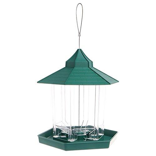 LANDUM Wasserdicht Pavillon hängende Dekoration Wild Bird Feeder Outdoor Füttern für Garden Bild groß