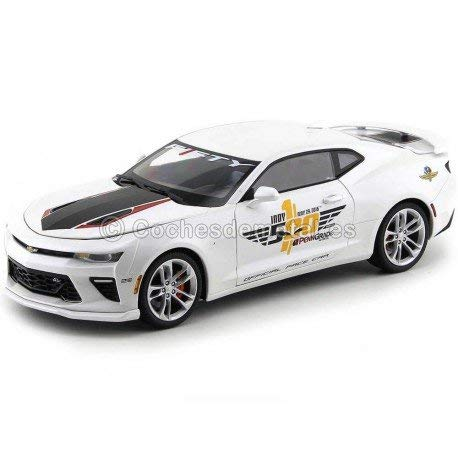 AUTO WORLD AW236 CHEVY CAMARO INDY PACE CAR 2017 40th ANNIVERSARY 1:18 DIE CAST (Indy Car Diecast)