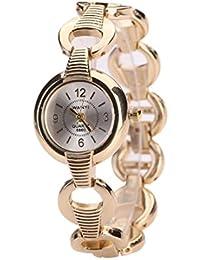 Women's Gold Steel Bracelet Luxury Watches