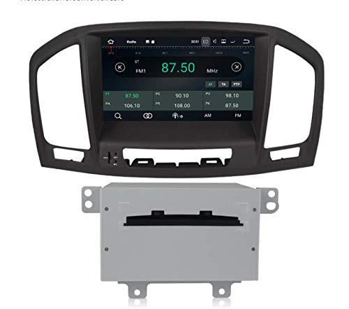 Sunshine Fly 8 Zoll Android 7.1 Quad core 1024 * 600 Kapazitiver Touchscreen 2 DIN Auto DVD GPS Radio Stereo Für Opel Insignia 2009-2011 Buick Regal 2009-2013 (Insignia Dvd Tv)