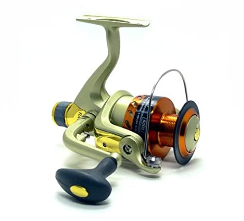 Red Man RA6000A 5 Ball Bearings Aluminum Spool Freshwater Spinning Reel FR112