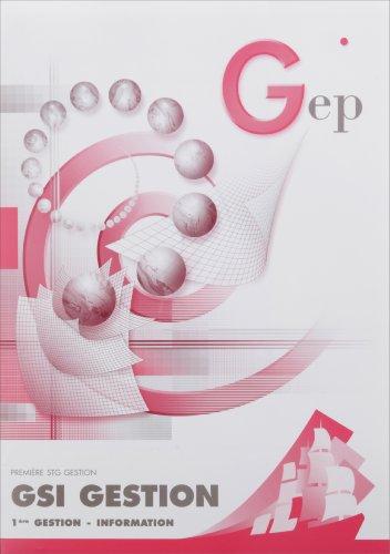 GSI 1e Gestion : Enoncé