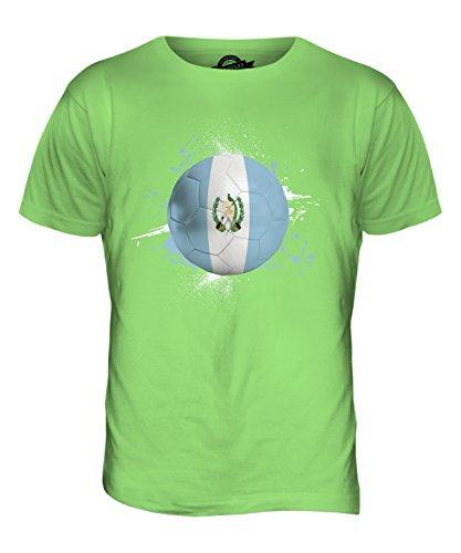 CandyMix Guatemala Fußball Herren T Shirt Limettengrün