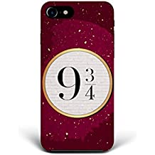 For iPhone 7 - iPhone 8 - Phone Back Case Hard Cover Custom Personalised Trendy Style Christmas Gift Present Abstract Modern Design Protective Plastic UK Brand Appfix 9 3/4 Peron HP Harry Potter