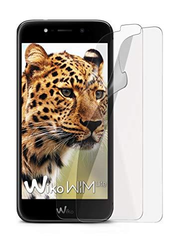 2X Wiko Wim LITE | Schutzfolie Matt Bildschirm Schutz [Anti-Reflex] Screen Protector Fingerprint Handy-Folie Matte Bildschirmschutz-Folie für Wiko Wim LITE Bildschirmfolie