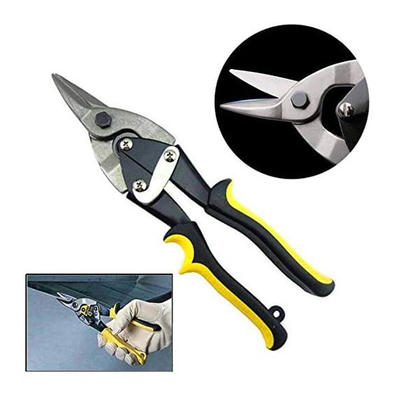 Shop93 Store 10 inch Metal Sheet Cutting PVC Pipe Cutter Shears Iron Scissors Tin Snips Hand Pruner