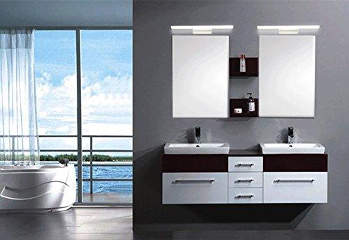 Zhma w luce bianco lampada bagno specchio da muro parete led