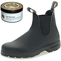 Blundstone Style 510 Classic Comfort Chelsea Boots Unisex Stiefelette + 250 ml Lederpflege | Black