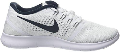 Nike Wmns Free Rn, Scarpe da Corsa Donna Bianco (White/black)