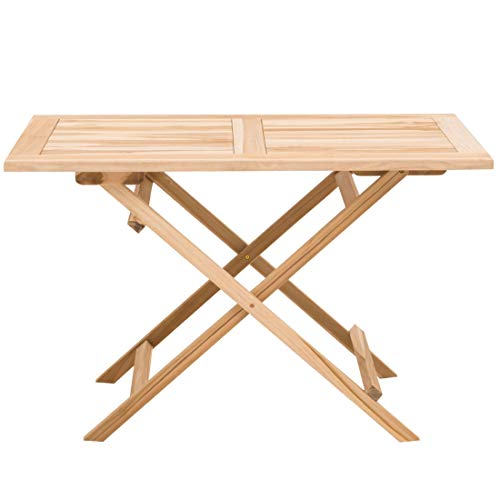 OUTLIV. Gartentisch Seattle Klapptisch 120x70cm Teak Outdoor Tisch