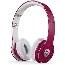 Beats By Dr. Dre Solo HD - Auriculares de diadema abiertos (con micrófono, control remoto integrado), rosa