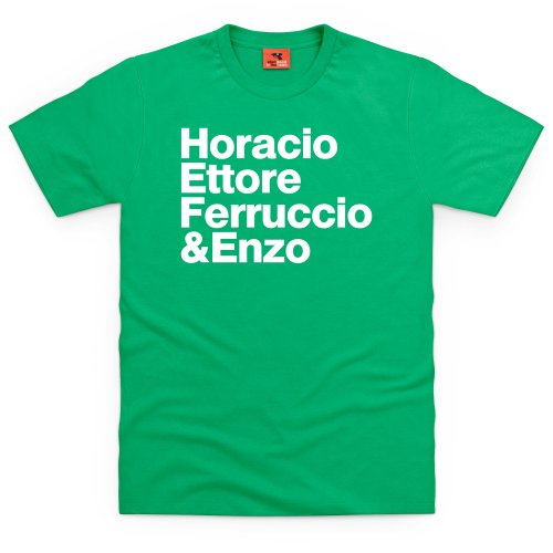 PistonHeads Names 3 T-Shirt, Herren Keltisch-Grn