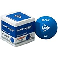 INTRO SQUASH BALL, Black, One Size by Dunlop
