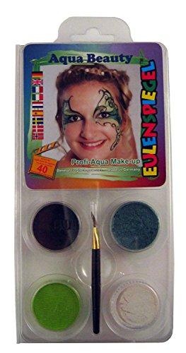 et Aqua Beauty, 6 Stück (Tierische Halloween-make-up)