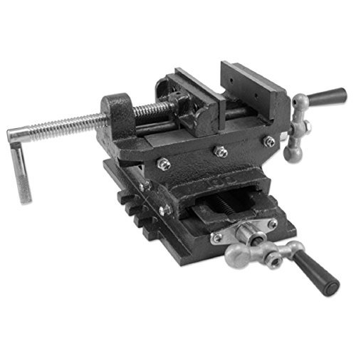 4 Cross Drill Press Vise Slide Metal Milling 2 Way X-Y Clamp Machine Heavy Duty by Clamps (Slide Drill Vise Cross Press)