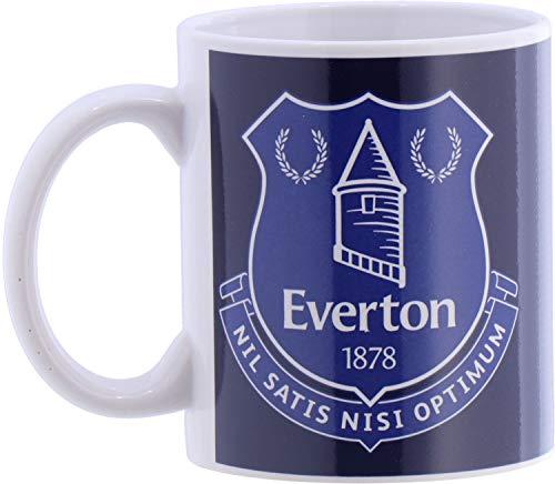 FC Everton Tasse Halftone mit Club Wappen -