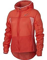 Nike G Nk Jkt Hd Imp Lt Chaqueta, Niñas, Naranja (Max Orange / Max Orange / Bright Melon), S