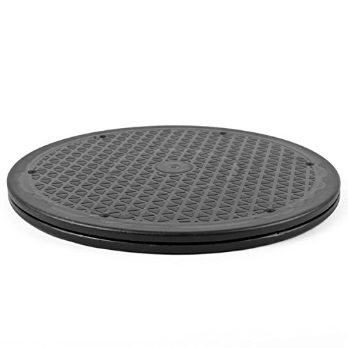 Komodo 25,4 cm Mehrzweck 360 Degree drehbar Plattform/250 mm Plattenspieler/für Fernseher, Monitore, Notebooks, Kuchen, Hifi Boxen - Drehteller
