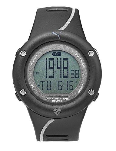 PUMA Mens Digital Watch, digital Display and PU Strap PU911291002