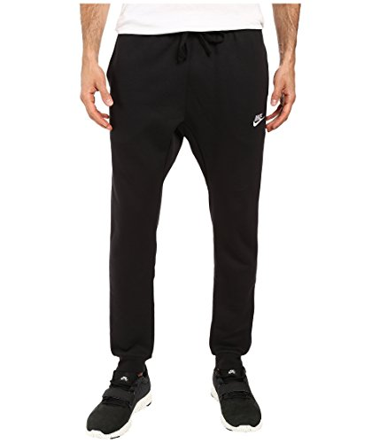 Nike Herren Jogger Fleece Club Trainingshose Black/White
