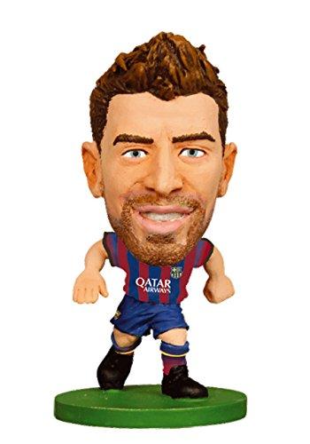 Barcelona SoccerStarz Pique (13-14 Home Kit)