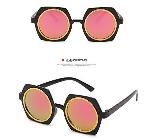 Sonnenbrille Kinder Sonnenbrille Baby Beschichtung Objektiv Sonnenbrille Fabrik Großhandel Uv400 Kind Eyewear Baby Schwarz Rosa