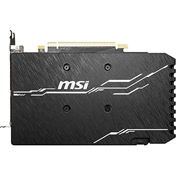 MSI NVIDIA GEFORCE GTX 1660 SUPER VENTUS XS OC Graphics Card '6GB GDDR6, 1815MHz, 3x DisplayPort, HDMI, Dual Fan Cooling System'
