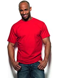 Hanes USA Beefy-T T-shirt  Uni Crew Manches courtes Homme