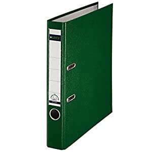 Leitz 180° Plastic Lever Arch File A4 50 mm - Green (Pack of 10)