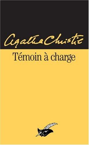 Témoin à charge par Agatha Christie