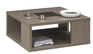 gautier ana table basse carr e cuisine maison. Black Bedroom Furniture Sets. Home Design Ideas