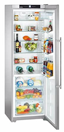 Liebherr SKBes 4210-24 Autonome 244L A++ Acier inoxydable réfrigérateur - réfrigérateurs (244 L, SN-T, 42 dB, A++, Acier inoxydable)