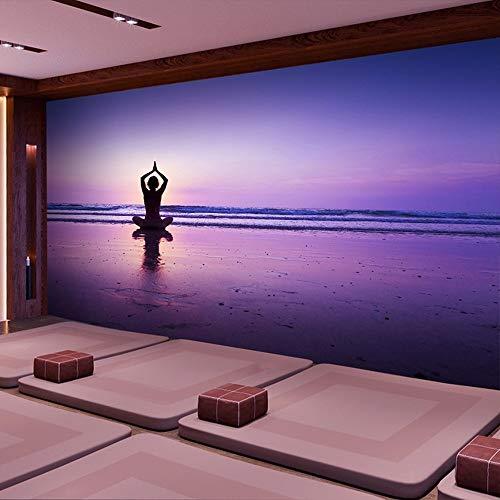 Preisvergleich Produktbild YUANLINGWEI 3D Stereo Fitnessstudio Yoga Shop Tapete Einfache Kleine Frische Große Wandbild, 230cm (H) X 310cm (W)