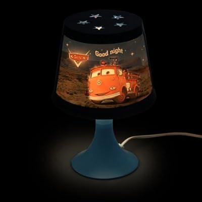 DISNEY CARS AUTOS Kinderlampe RED FEUERWEHR Nachttischlampe Kinder Kinderzimmer Beleuchtung von Disney bei Lampenhans.de