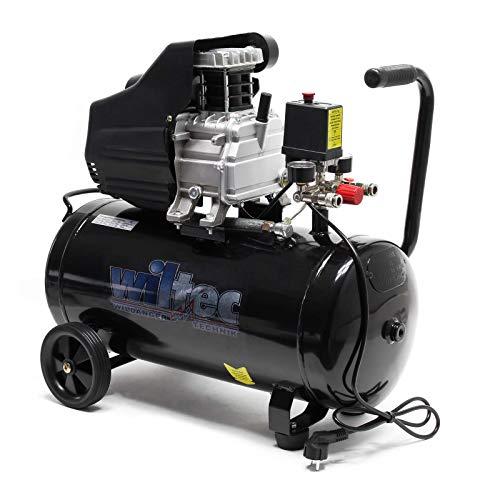 Compresor aire 50L 8Bares Presión Aire comprimido De aceite.