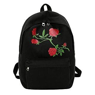Amazingdeal ,  Daypack schwarz schwarz 380x270x110mm/14.96 x 10.62 x 4.33 in