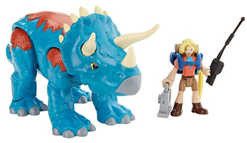 Fisher-Price Imaginext Jurassic World, Dr. Sattler & Triceratops
