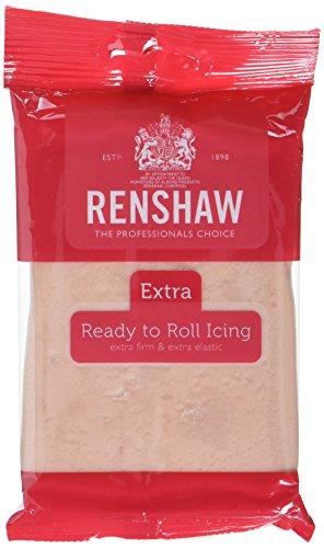 Renshaw Rollfondant Extra Skin Tone, 4er Pack (4 x 250 g)