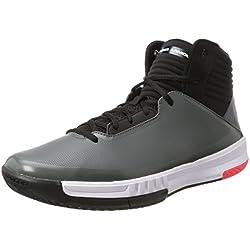 Under Armour UA Lockdown 2, Zapatos de Baloncesto, Hombre, Gris (Graphite 101), 45 EU