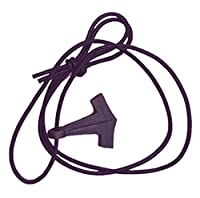 Groß für Halsketten! Leicht auf eine Schnur oder ein Stück Leder und Voila aufgereiht! Eine Viking-Halskette! Eine nette und preiswerte Alternative zu teurerem Thor's Hammer Jeder hat ein keltisch / nordisches Interweave Design über Runen! 100% neu e...