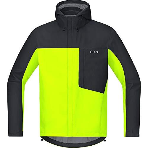 GORE Wear C3 Herren Kapuzenjacke GORE-TEX, L, Neon-Gelb