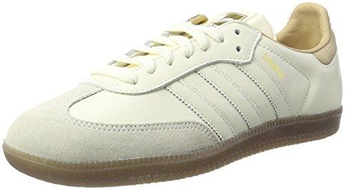 adidas Damen Samba Sneaker, Weiß Off White/St Pale Nude, 42 EU