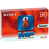 Sony - 8MM-Camcorder Kassette, Video8-Format - Metal Particle, 90 Minuten