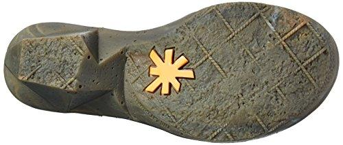 art - Oteiza, Stivali a metà polpaccio con imbottitura leggera Donna Nero (Nero (nero))
